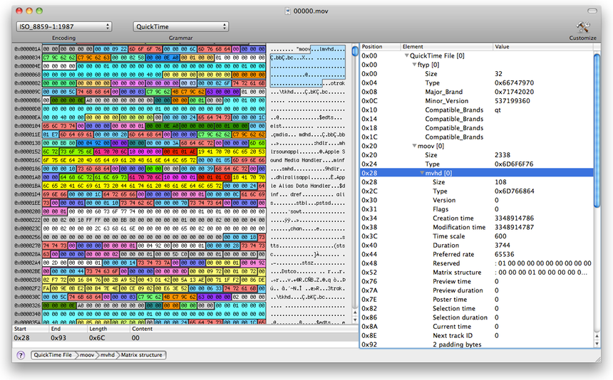 Synalyze It! - more than a Hex Editor for Mac OS X