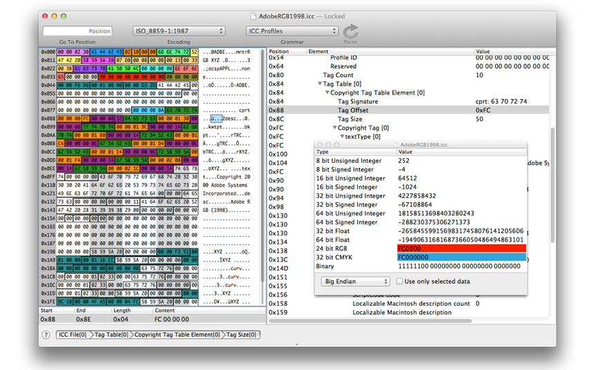 Hex Editor for OS X | Synalyze It!
